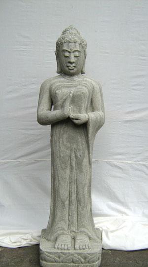 Sandstein Gartenfigur Moderne Figur