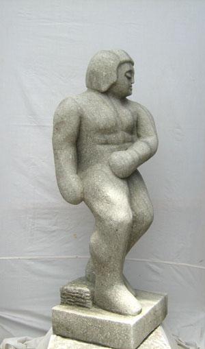 Abstrakte Skulptur neu