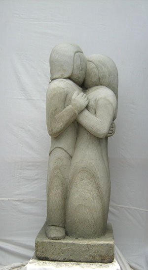 Moderne Skulptur Art