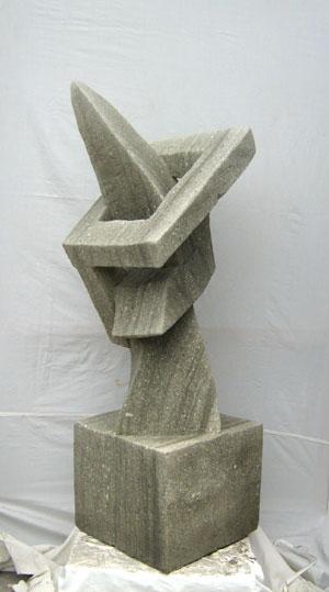 Moderne Kunst Statuen