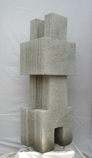 Moderne Statue toll