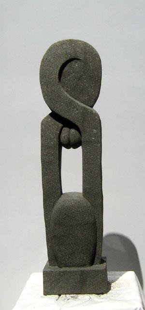 Abstrakte Statue Gartenfigur