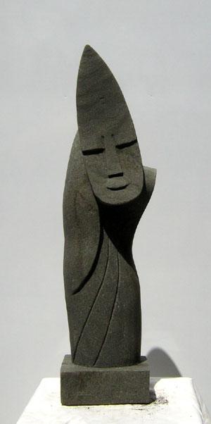 moderne skulpturen 100cm moderne figur 1333. Black Bedroom Furniture Sets. Home Design Ideas