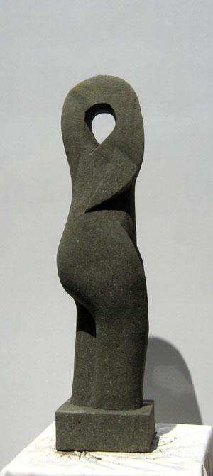 Sandstein Gartenfigur Art