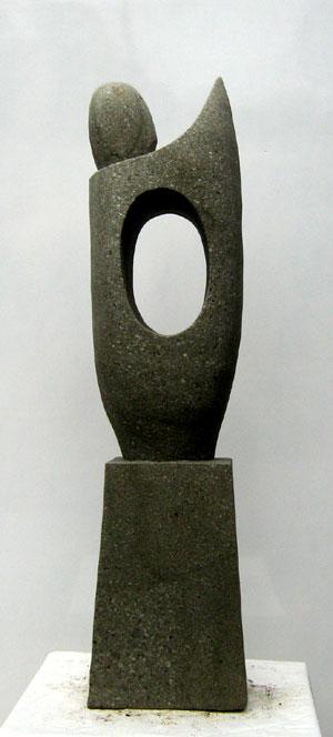 Moderne Skulptur neu