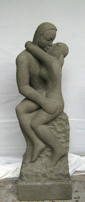 Abstrakte Skulptur Skulptur
