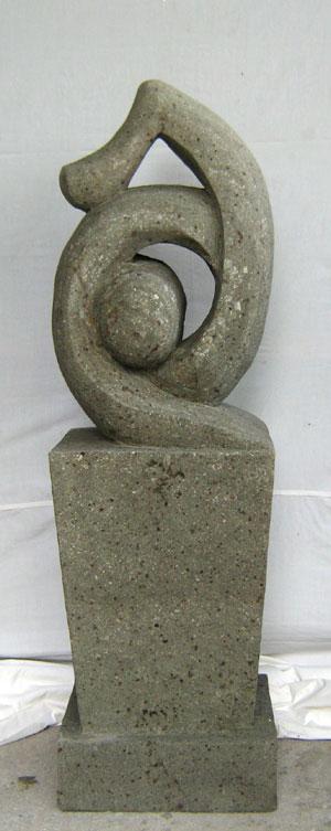 Sandstein Statue kunstvoll