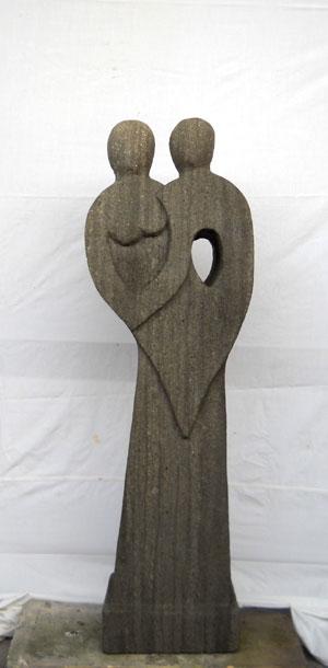 Exaltierte Statue neu