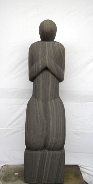 Sandstein Statue Kultur