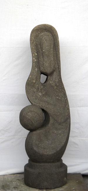 Exaltierte Statue top