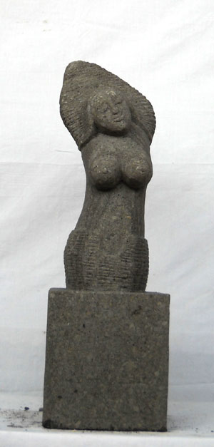 Abstrakte Statue kunstvoll