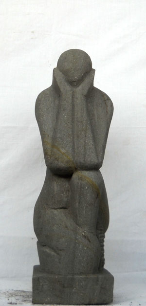 Moderne Skulptur kunstvoll