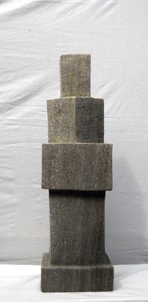 Abstrakte Statue Skulptur